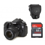 APARAT CANON EOS 70D +18-55IS STM + 32GB SDHC+etui